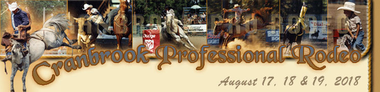 Cranbrook Pro Rodeo - August 17-19, 2018